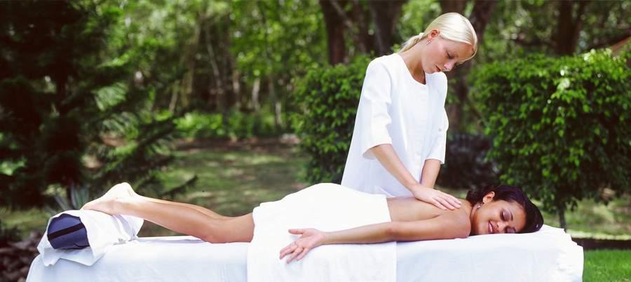 masaż na wczasach odchudzających